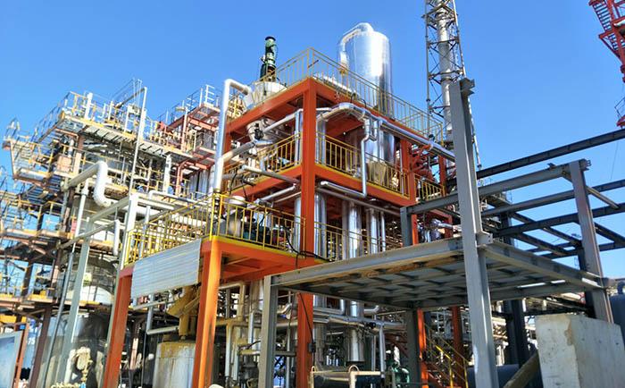 化工废液焚烧炉单效蒸发器案例
