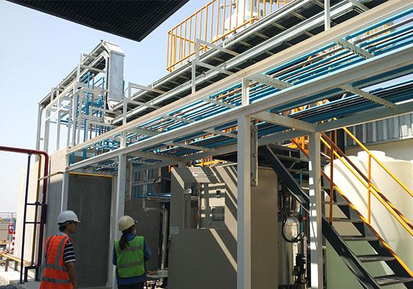 电镀废水处理案例MVR蒸发器