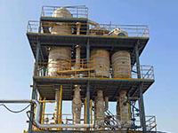 印染行业废水处理三效蒸发案例